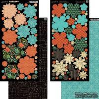 Высечки Graphic 45 - Couture - Flowers