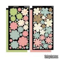 Высечки Graphic 45 - Botanical Tea - Flowers, размер 30х30 см