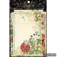 Карточки для журналинга Graphic 45 - Time to Flourish - Ephemera Cards - ScrapUA.com