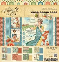 Набор двусторонней бумаги Graphic 45 - Home Sweet Home Pad, размер 30х30 см, 8 листов