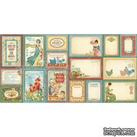 Высечки Graphic 45 - Home Sweet Home - Ephemera Cards
