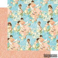 Лист скрапбумаги Graphic 45 - Precious Memories - Cherishe, двусторонняя, 30х30 см.