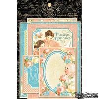 Высечки Graphic 45 - Precious Memories - Ephemera Cards