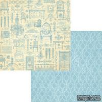 Лист скрапбумаги Graphic 45 - Gilded Lily - Versailles, двусторонняя, 30х30 см.