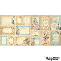 Высечки Graphic 45 - Gilded Lily - Ephemera Cards