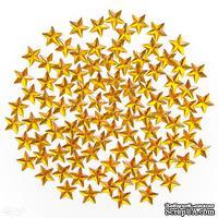 Декоративные стразы звездочки,  15 мм, 100 шт., TM dpCraft (Dalprint)