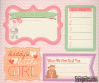 Книга наклеек - Grant Studios - Baby Girl, - La De Dah, 5 листов на детскую тематику