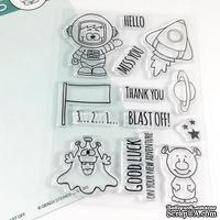 Набор штампов Gerda Steiner - Blast Off 4x6 Clear Stamp Set