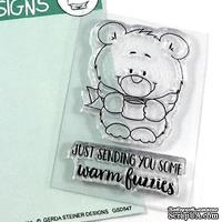 Набор штампов Gerda Steiner - Warm Fuzzies 2x3 Clear Stamp Set
