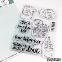Набор штампов Gerda Steiner - Buckets of Love 4x6 Clear Stamp Set