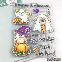 Набор штампов Gerda Steiner - Where is the Candy? 4x6 Clear Stamp Set