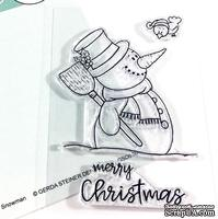 Набор штампов Gerda Steiner - Happy Snowman 3x4 Clear Stamp Set