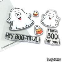Набор штампов Gerda Steiner - A Boo For You 3x4 Clear Stamp Set