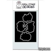 Набор лезвий Gerda Steiner Designs - Carol Kitten 4x6 Die Set