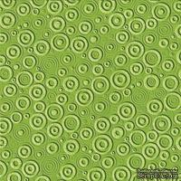Кардсток с тиснением и внутренним слоем Core'Dinations - Core Impressions - Basic Grey - Whimsy Collection - Mantis Cotton, 30х30 см