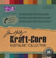 Набор картона с внутренним слоем Core'dinations - Ranger Kraft Core, 24 листа