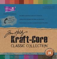 Набор кардстока с внутренним слоем Core'Dinations - Tim Holtz - Kraft-Core - Classic, 30х30 см