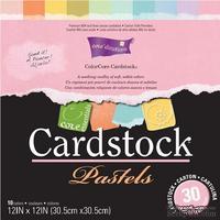 Набор кардстока с внутренним слоем Core'Dinations - Cardstock Pastels, 30х30 см