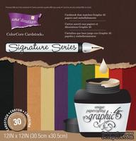 Набор кардстока с внутренним слоем Core'Dinations - Graphic 45 - Signature Series, 30х30 см