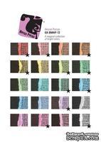 Набор кардстока с внутренним слоем Core'Dinations - Black Magic - Asst-HocusPocus, 30х30 см