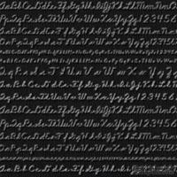 Кардсток с тиснением и внутренним слоем Core'Dinations - Core Impressions - Cosmo Cricket - Neutrals Collection - Nightfall Cursive, 30х30 см