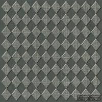 Кардсток с тиснением и внутренним слоем Core'Dinations - Core Impressions - Graphic 45 - Timeless Collection - Cityscape Diamond, 30х30 см