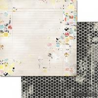 Лист бумаги от Glitz Design - Cashmere Dame - Honeycomb, 30х30 см