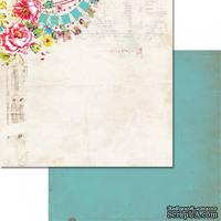 Лист бумаги от Glitz Design - Cashmere Dame - Banner, 30х30 см