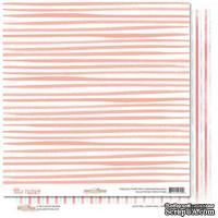 Лист бумаги от Glitz Design - Hello Friend - Stripe, 30х30 см
