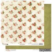 Лист бумаги от Glitz Design - Joyeux Noel - Floral, 30х30 см