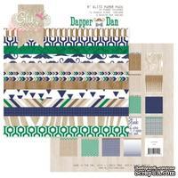 Набор бумаги от Glitz Design - Dapper Dan Paper Pad, 15х15 см