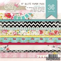 Набор бумаги Glitz Design - Cashmere Dame, 15х15 см