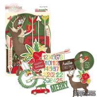 Набор высечек от Glitz Design - Hello December Whatnots