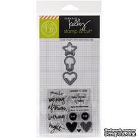 Набор ножей и штампов от Hero Arts -Kelly Purkey Stamp & Cut -  Everyday Clips