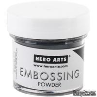 Пудра для горячего эмбоссинга от Hero Arts - Detail Black