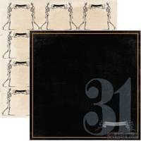 Лист скрапбумаги My Mind's Eye Thirty-First, 30х30 см, двусторонняя
