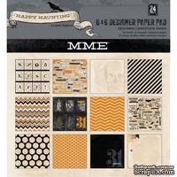 Набор бумаги для скрапбукинга My Mind's Eye Happy Haunting, 15х15 см, двусторонняя, 24 листа