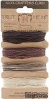 Набор шнурочков Hemptique - EARTHY HEMP CORD, 12,8 м, 4 цвета