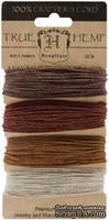 Набор шнурочков Hemptique - BRONZE HEMP CORD, 9,1 м,  4 цвета