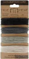 Набор шнурочков Hemptique - ONYX HEMP CORD, 9,1 м,  4 цвета