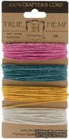 Набор шнурочков Hemptique - SPRING HEMP CORD, 9,1 м,  4 цвета