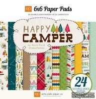 "Набор бумаги от Echo Park - ""Happy Camper"", 15x15 см, 24 листов"