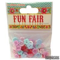 Набор пуговиц пластиковых от Helz Cuppleditch - Fun Fair