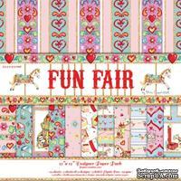 Набор бумаги от Helz Cuppleditch - Fun Fair, 30х30 см, 12 листов