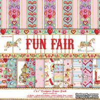 Набор бумаги от Helz Cuppleditch - Fun Fair, 15х15 см, 12 листов