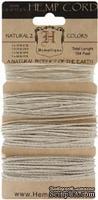 Набор шнурочков Hemptique - NATURAL HEMP CORD, 31,7 м, натурального цвета