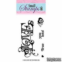 Набор акриловых штампов HOTP - Small Stamp Love, размер 5,1х7,6 см