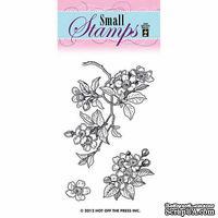 Набор акриловых штампов HOTP - Small Stamp Cherry Blossom, размер 5,1х7,6 см