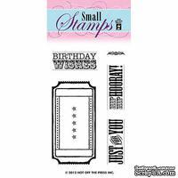 Набор акриловых штампов HOTP - Small Stamp Ticket, размер 5,1х7,6 см
