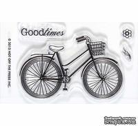 Набор акриловых штампов HOTP - Small Stamp Bicycle, размер 5,1х7,6 см